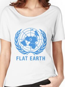 Flat Earth Women's Relaxed Fit T-Shirt