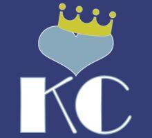 Love KC - Heart & Crown by diggitydaw