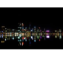 South Perth Lights Photographic Print