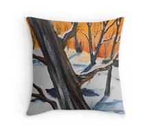 Widow Maker Throw Pillow