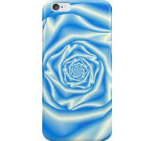 Blue Rose Spiral iPhone Case/Skin