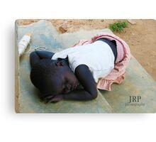 Sleeping Mercy Canvas Print