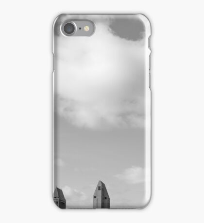 A SKYLINE BELOW iPhone Case/Skin