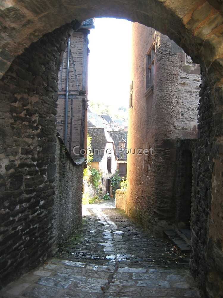 Conques in Aveyron by Corinne Pouzet