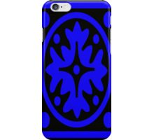 Black & Blue Abstract iPhone Case/Skin