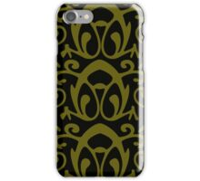 Black & Gold Abstract iPhone Case/Skin