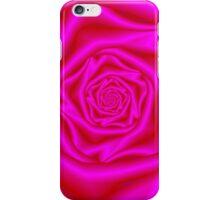 Pink Rose Spiral iPhone Case/Skin