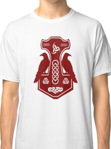 Dark Red Thor's Hammer Classic T-Shirt