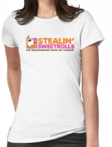 Stealin' Sweetrolls Womens Fitted T-Shirt