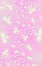 Pink Flutterbyes by Objowl