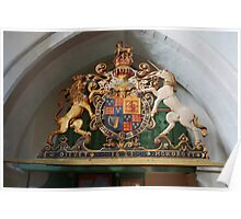 St Mary, Langley Marish - Royal Arms Poster