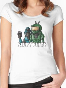 Halo 3- Bunny Ears Women's Fitted Scoop T-Shirt