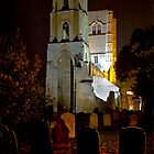 Autumn Night At Wymondham Abbey by Darren Burroughs