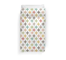 Hipster Crosses Duvet Cover