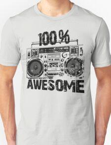 100 % AWESOME Unisex T-Shirt