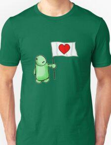 The Love Flag Man Unisex T-Shirt