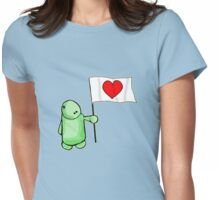 The Love Flag Man Womens Fitted T-Shirt