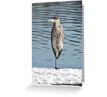 Cold Foot Greeting Card