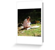 plein air Greeting Card