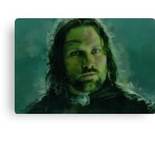 """Aragorn- Lord of the Rings"" Canvas Print"