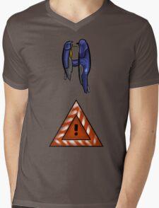 Halo 2- Scarab Gun Mens V-Neck T-Shirt