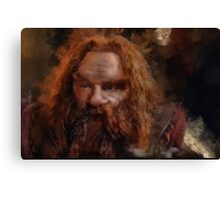 """Gimli-Lord of the Rings"" Canvas Print"