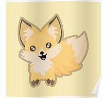 Kawaii Fox Poster