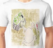 The Hare and the Tortoise - La Fontaine Unisex T-Shirt