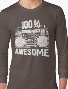 100% AWESOME Long Sleeve T-Shirt
