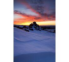 Pinnacle Sunset Photographic Print