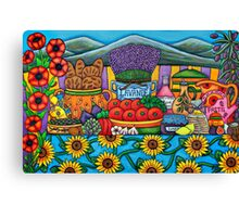 Flavours of Provence Canvas Print