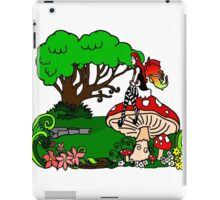Magical Forest with Faerie iPad Case/Skin