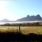 Helderberg mountains by fourthangel