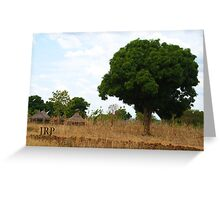 Sudanese Scenery Greeting Card