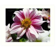Flowers for Breast Cancer  Art Print