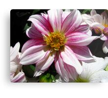 Flowers for Breast Cancer  Metal Print