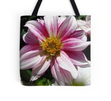Flowers for Breast Cancer  Tote Bag
