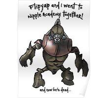 Halo 3- Flipyap Poster
