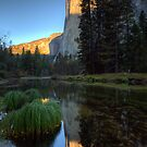 First Light, pt 2 - Cathedral Beach, El Capitan, Yosemite, CA by Matthew Kocin