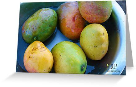 Ripe Mangos by Jessica  Page