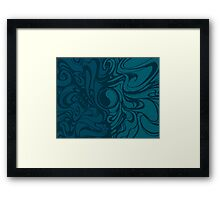 Weaves Framed Print