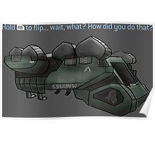 Halo 3- Elephant Poster