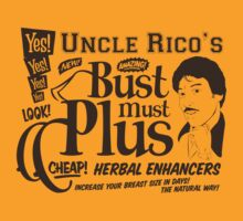Uncle Rico - Bust Must Plus T-Shirt