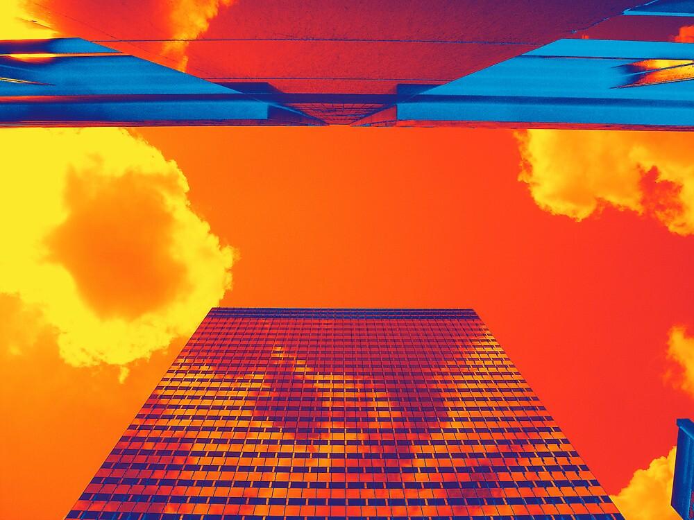 Flaming Skies by Misha Dontsov
