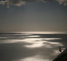 Beachy Head lighthouse by Jon Downs