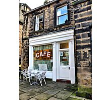 Sids Cafe, Holmfirth Photographic Print
