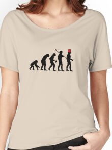 Evolution of the Time Lord - Light Colors Women's Relaxed Fit T-Shirt