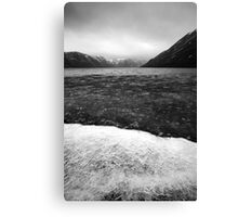 Icy Loch 6 Canvas Print