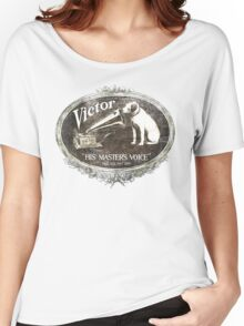 His Master's Voice Women's Relaxed Fit T-Shirt