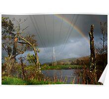 Electric Rainbow  Poster